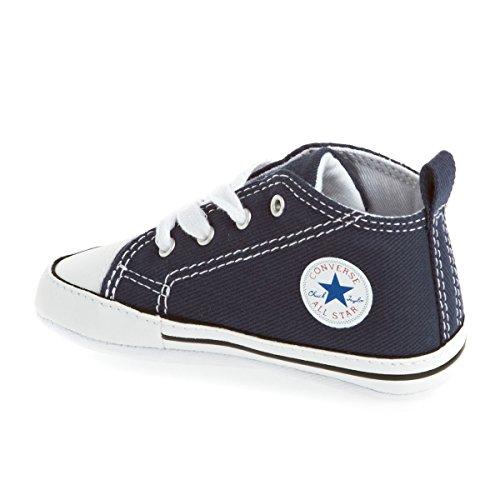 Converse Chuck Taylor All Star Core Hi - Botines de lona para bebé azul