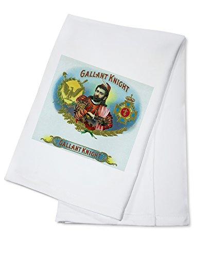 OKSLO Gallant knight cigar inner box label (100% cotton towel) model ()