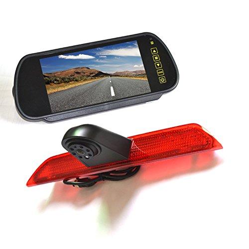 Cheap Vardsafe | Brake Light Backup Camera + 7 inch Clip-on Mirror Monitor For Ford Transit (2014-2018)