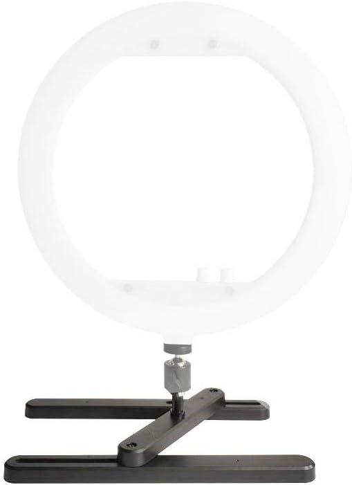 Vbestlife LED Ring Light Base Desktop Tabletop Stand Support Bracket for Photo Ring Video Lamp Lighting.