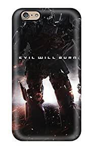 Flexible Tpu Back Case Cover For Iphone 6 - Transformers 4 Poster by icecream design