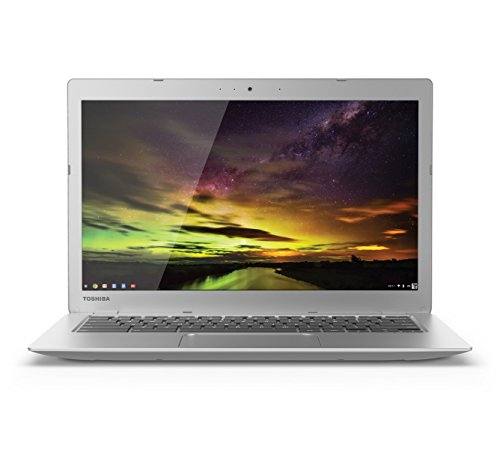 Toshiba  CB35-B3340 13.3 Inch Chromebook (Intel Celeron 4GB 16GB SSD Silver) Full HD-Screen