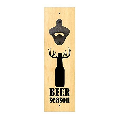 Wall Mounted Bottle Opener Sign - Beer Season