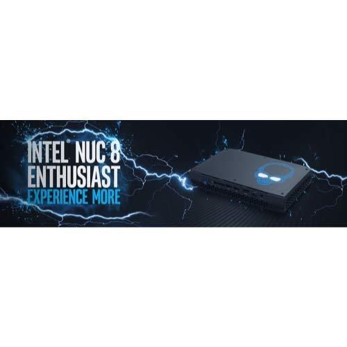 Intel NUC NUC8I7HVK Mini PC, Intel QuadCore i7-8809G Upto