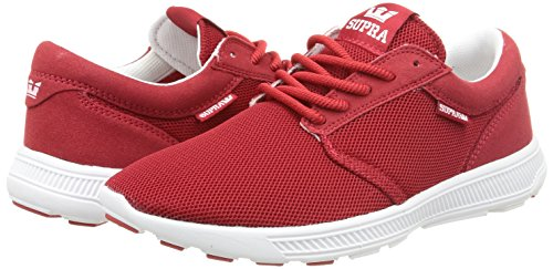 Low cardinal Run Sneakers Unisex Off top Adults' Hammer Supra Car Red White gCwq4ZB