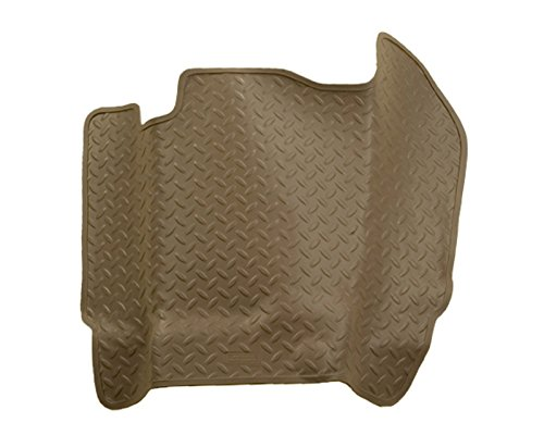 - Husky Liners Center Hump Floor Liner | Classic Style Series Tan Chevrolet K2500 Extended Cab Pickup Without Manual Transfer Case Shifter 92-00