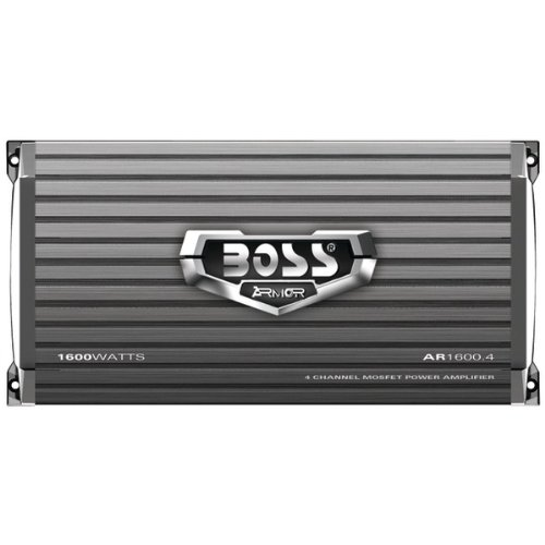 Boss Audio 1600 Watt 4 Channel Car Amplifier Power Audio with Remote | AR1600.4 by BOSS Audio