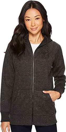 Burton Women's Bonded Scoop Hoodie True Black Sweater Large by Burton