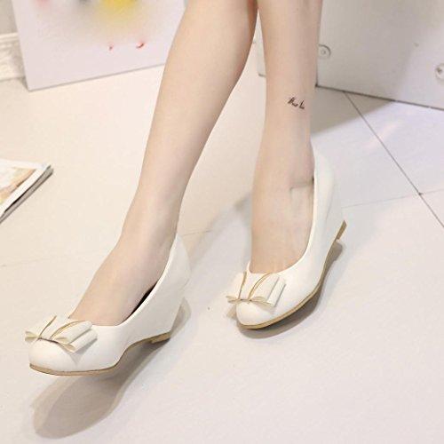 Binmer (tm) Femmes Sandales Dété Chaussures Peep-toe Chaussures Basses Sandales Romaines Dames Flip Flops Beige
