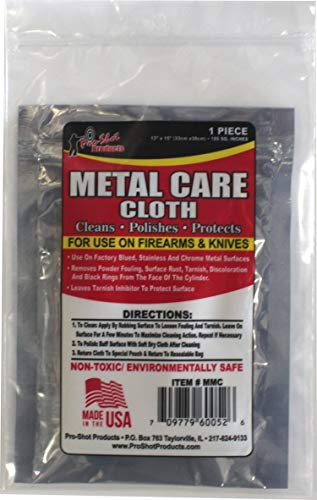Pro Shot Gun Care Metal Care Cleaning Cloth ()
