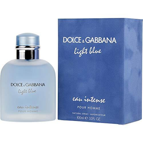 Dolce & Gabbana Light Blue Intense for Men Eau De Parfum Spray, 3.3 Ounce ()