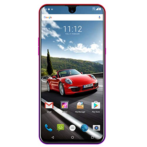 Hotcl Unlocked Cell Phones Android 8.1,X23 Unlocked Smartphones - 6.2 '' Water Drop Screen Display Dual HD Camera - 2GB RAM + 32GB ROM - 8MP Rear Camera - 3G GPS Unlocked Smartphones (red) by Hotcl (Image #3)