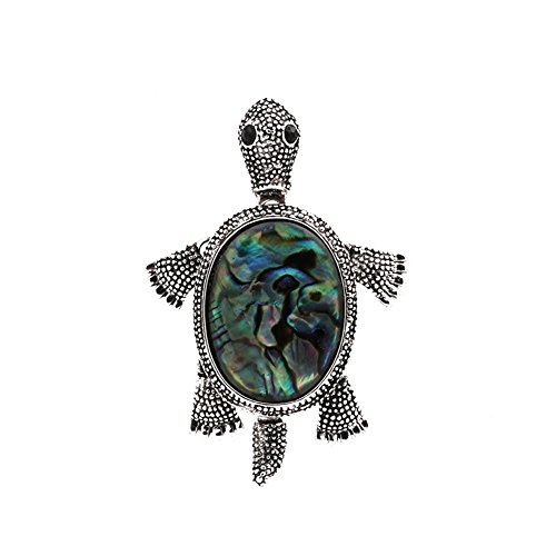 (Women's Jewelry Big Turtle Pin Brooch Pendant (Turtle Brooch))