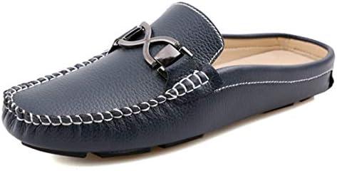ローファー メンズ かかとなし 軽量 スリッパ ビット付き カジュアル フォーマル ドライビングシューズ スリッポン 通気 サボサンダル シンプル 柔らかい 靴 滑り止め キレイ目 サンダル 室内履き 社内履き 消臭