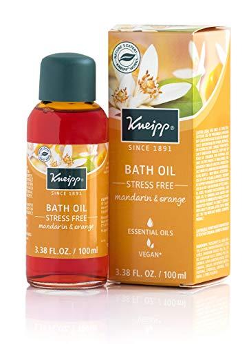 - Kneipp Herbal Bath, Stress Free, Orange Blossom & Mandarin, 3.38 fl. oz.