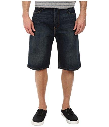 569 Loose Straight Jean Shorts (Levi's Mens  Men's 569 Loose Straight Short Springstein Shorts)