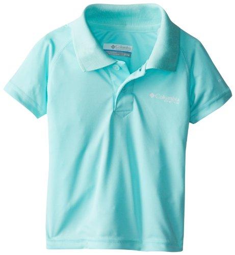 Columbia Sportswear Boy's Terminal Tackle Polo Shirt (Children), Gulf Stream, 3T ()
