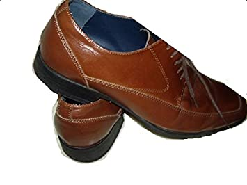 424b68b03dc Image Unavailable. Image not available for. Color  i Steve Madden Manifest Men s  Shoes Size 8.5 Brown Leather Casual Dress