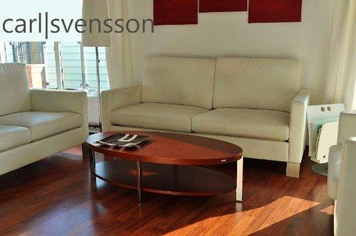 Amazonde DESIGN COUCHTISCH O 111 Kirschbaum Oval Carl Svensson NEU Tisch