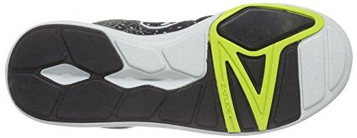 Zumba Footwear Court Flow High Damen Hallenschuhe Grau (Black/Graphite)