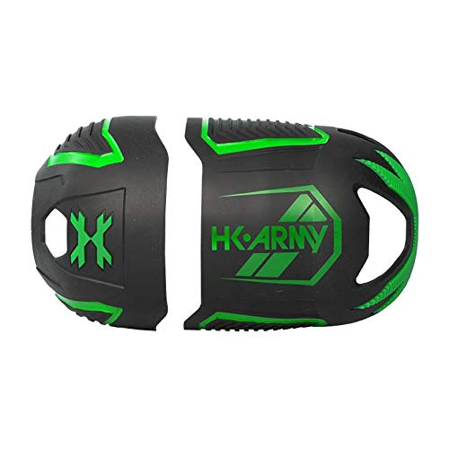 HK Army Vice FC Tank Cover - Fits 48ci, 68ci, 80ci (Black/Neon Green) by HK Army