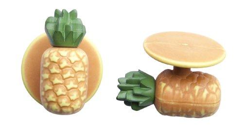 Kochkn?pfe kochknopf boutons boutons de 12 pices de diffrentes couleurs, noir, taille unique Jaune - Ananas