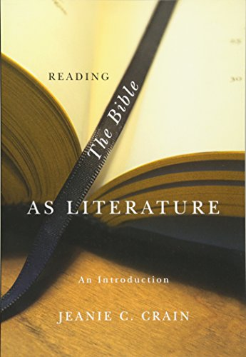 Reading The Bible As Literature (Pb)