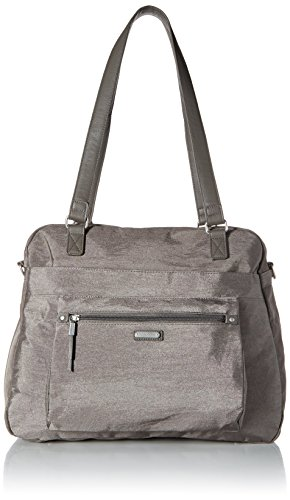 Baggallini Overnight Expandable Laptop Tote with RFID Phone Wristlet