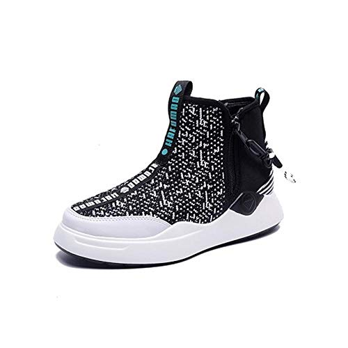 Donna Donna Flats Winter Boots Scarpe Black Platform Martin zqwPTF6X