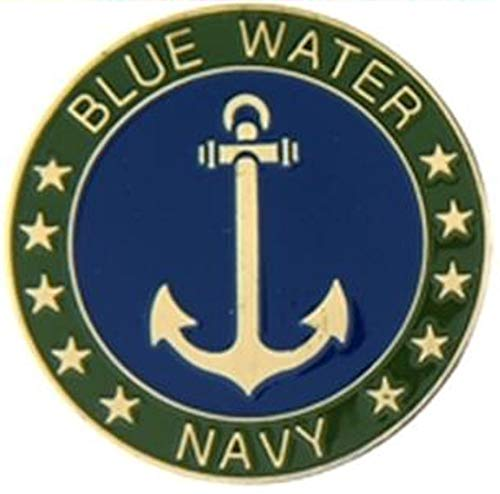 Blue Water Navy Challenge Coin