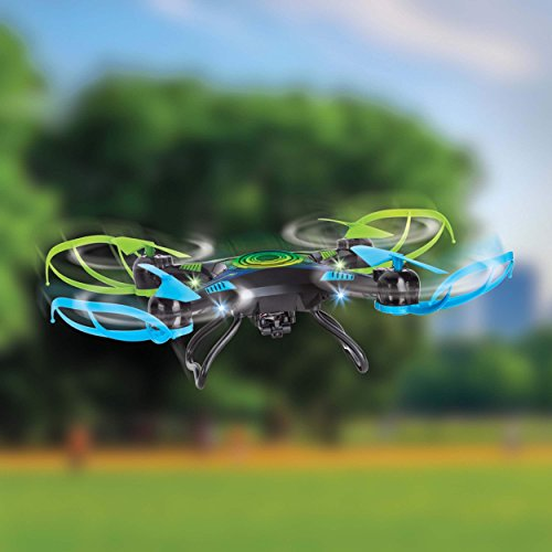12in. x 12in. x 4in. Sharper Image Rechargeable Remote Control Duable Camera Video Remote-Controlled Drone Pretend Playset for Boys