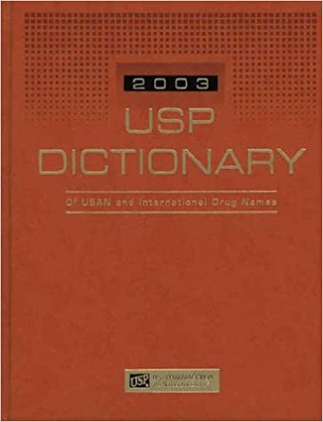Download USP Dictionary of USAN and International Drug Names, 2003 Edition PDF