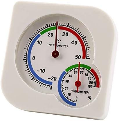 el Patio y la Sala de Plantaci/óN Medidor de Temperatura y Humedad para el Hogar la Cocina Higr/óMetro la Habitaci/óN SNOWINSPRING Paquete de 2 Term/óMetros para Interiores