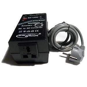 seven star sf500 500w 110v 220v 220v 110v step up down automatic transformer adapter. Black Bedroom Furniture Sets. Home Design Ideas