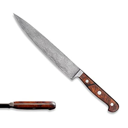 Compra Cuchillo jamonero 21 cm - 300 capas de acero de ...