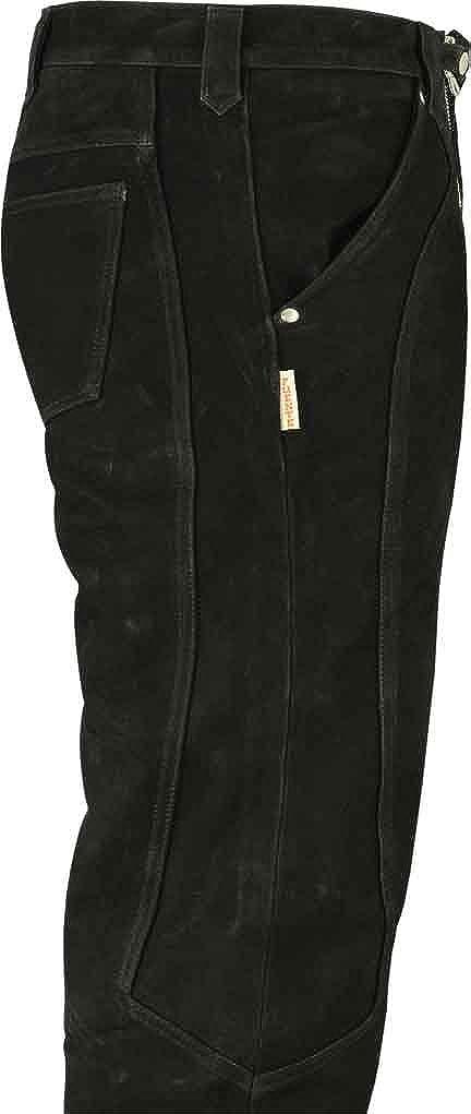 Lederprofi - Pantaloni - 35W Straight - Uomo 35W - Nero 21cf5c ... e64cf053cd3a