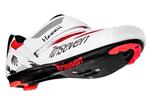 TriSeven Premium Nylon Triathlon Cycling Shoes   Lightweight, Unisex & Fiberglass Sole (37) by TriSeven (Image #2)