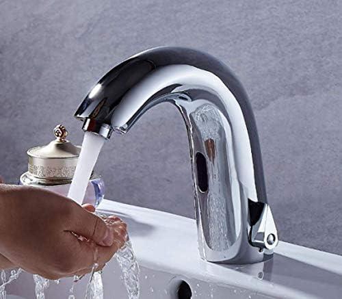 ZY-YY すべての銅温水と冷水自動水栓公衆トイレ商業スーパー洗面台洗面蛇口
