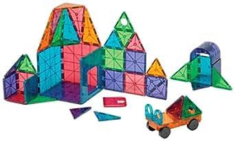 Magna-Tiles 12148 Clear Colors 48 pc DX set Toy