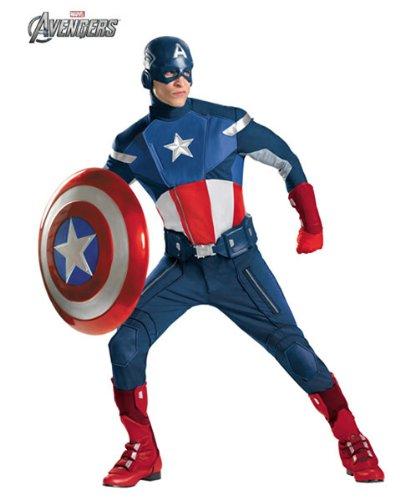 Captain America Theatrical Adult Costume - XX-Large for $<!--$275.31-->