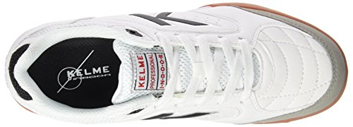 Chaussures Precision en Homme Football Cass Kelme de Salle Blanc dqTwvI
