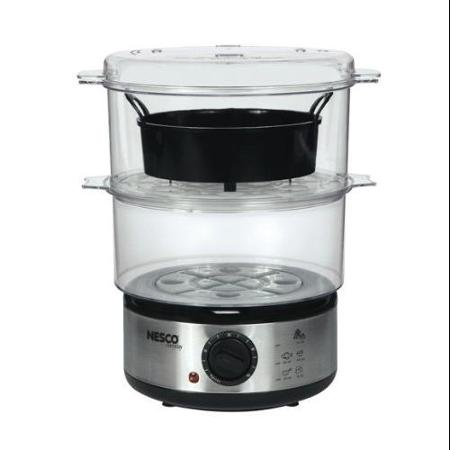 Nesco ST-25F 5qt Food Steamer Bpa Free Appl Stainless Steel Base 400watt by Nesco