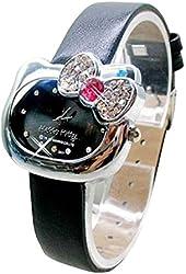 Lovely Fashion Hello Kitty watches Girls Ladies Wrist Watch WKT@DGWHK5B