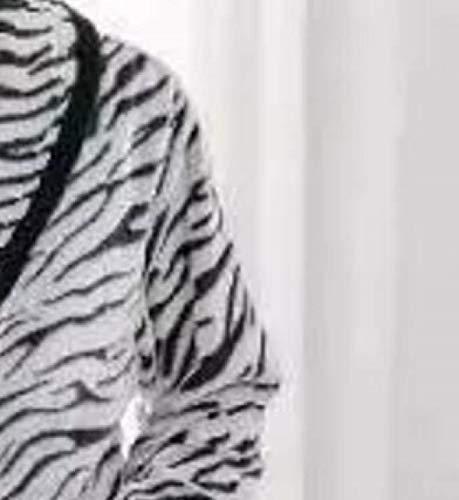 Vestaglia Cappotto Nero Rughe Abbigliamento Comodo Da Accappatoio Camicia Homewear Flanella Sauna Loungewear Fluffy Uomo Notte W6S774yvq