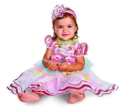 Disguise Costumes Hasbro Candyland Vintage Infant, Pink/Purple, 12-18 Months