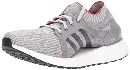 adidas Women's Ultraboost X Running Shoe, Three/Pearl Grey, 8 Medium US