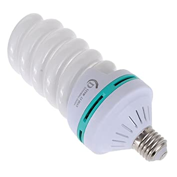 125W 220V E27 5500K Full Spectrum Fluorescent Amazoncouk Electronics