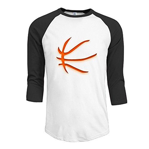 AOLM Men's New Basketball Player #23 James LBJ 3/4-Sleeve Raglan T Shirts