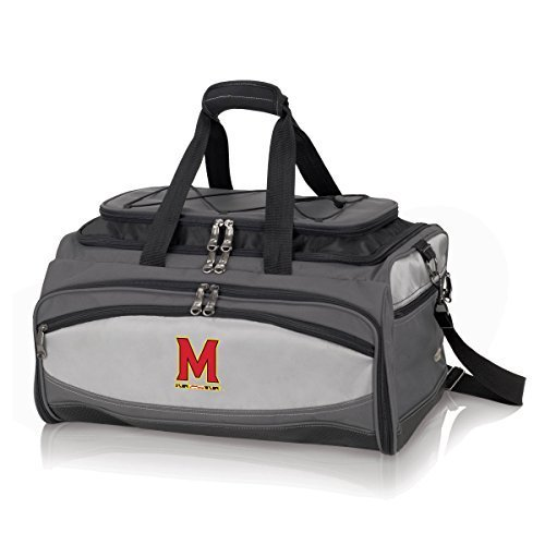 NCAA Maryland Terps Buccaneer Tailgating Cooler with Grill by Picnic Time
