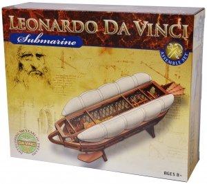S.T.E.A.M. Line Toys Elenco Leonardo da Vinci Edu-Science - Submarine Assemble Set by S.T.E.A.M. Line Toys